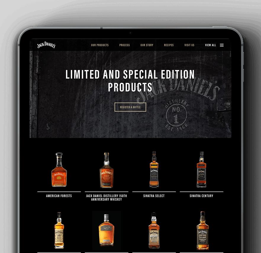 Vaimo & Jack Daniels Magento eCommerce site