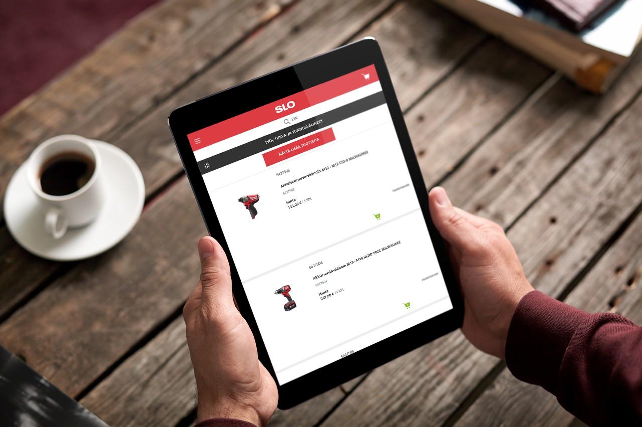 SLO & Vaimo - eCommerce site on Magento