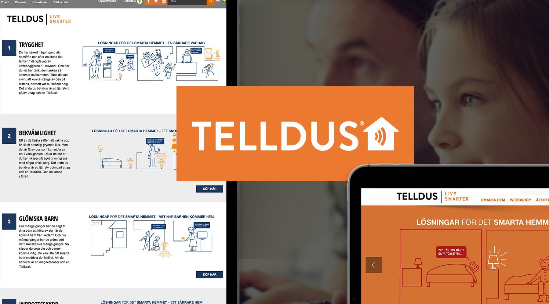 Vaimo ecommerce Telldus