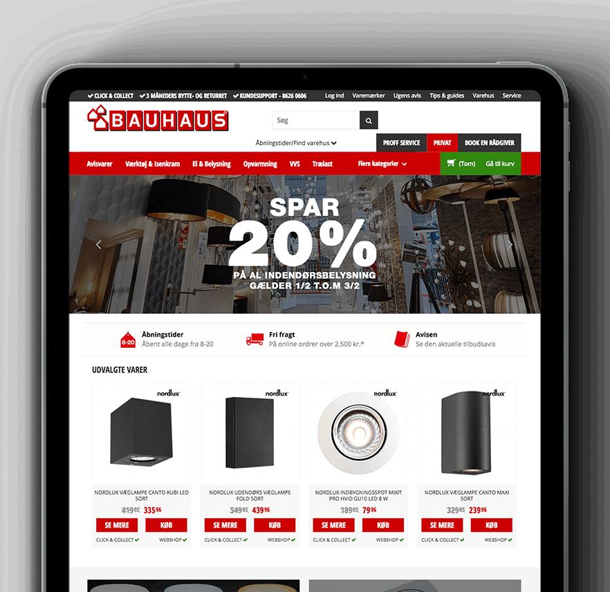 BAUHAUS Denmark site
