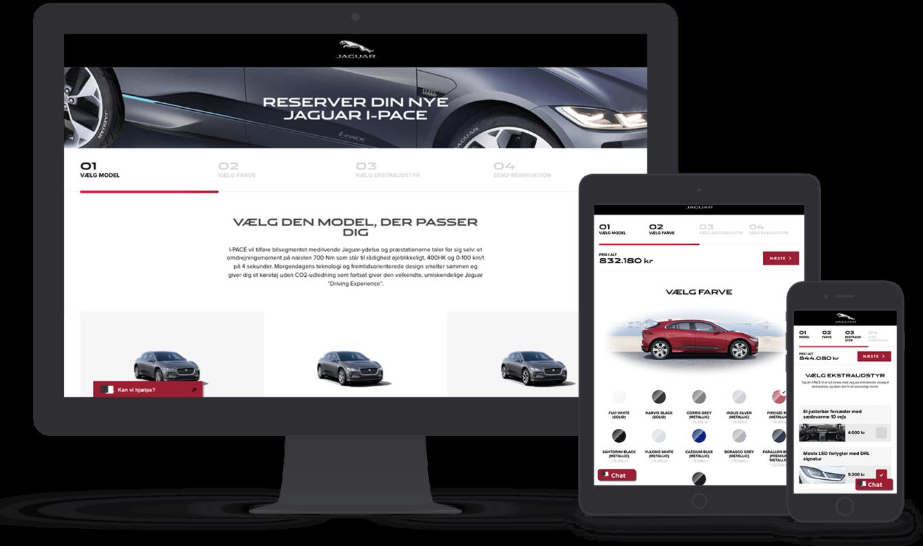 Jaguar e-handel