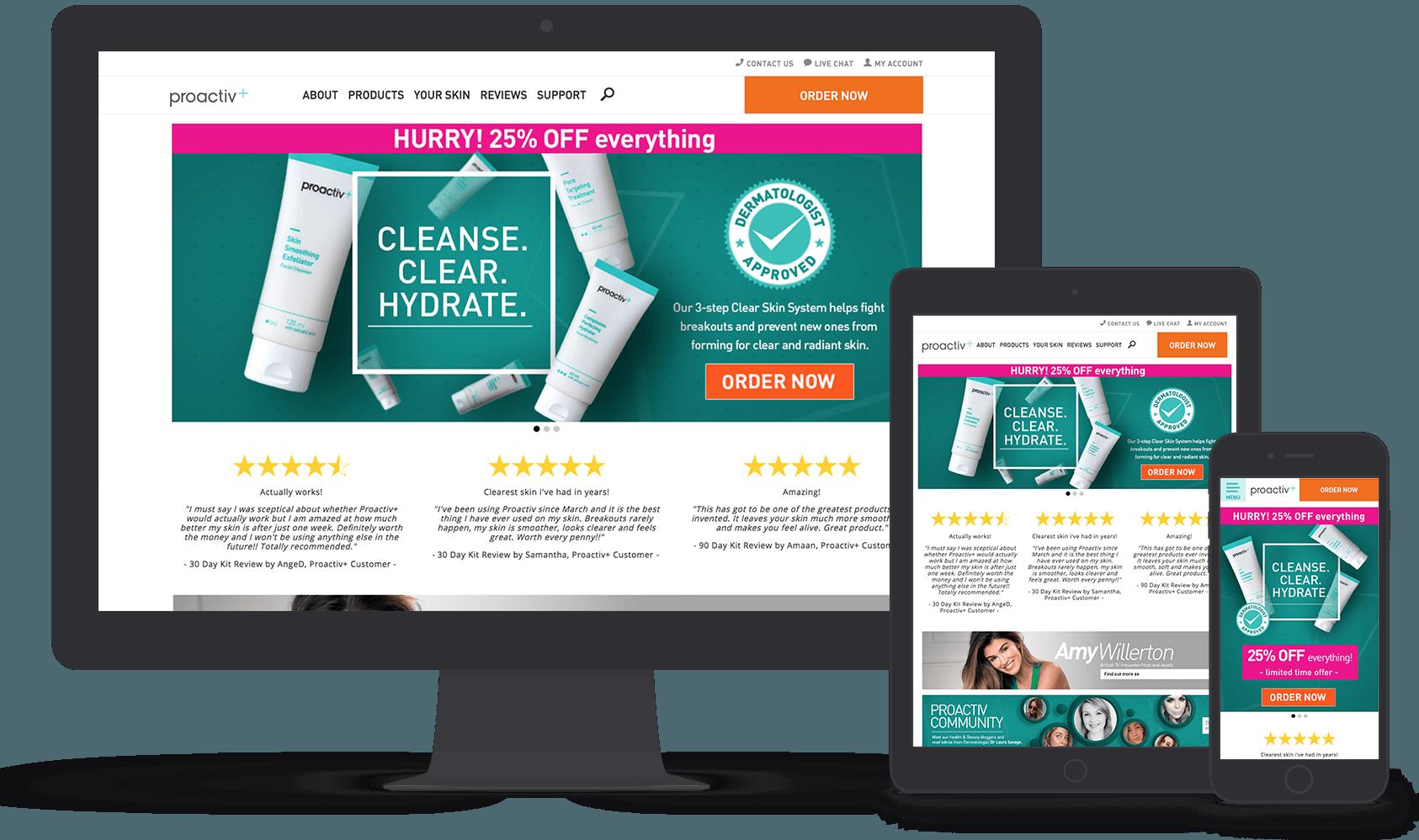 Vaimo & Proactiv+ online store