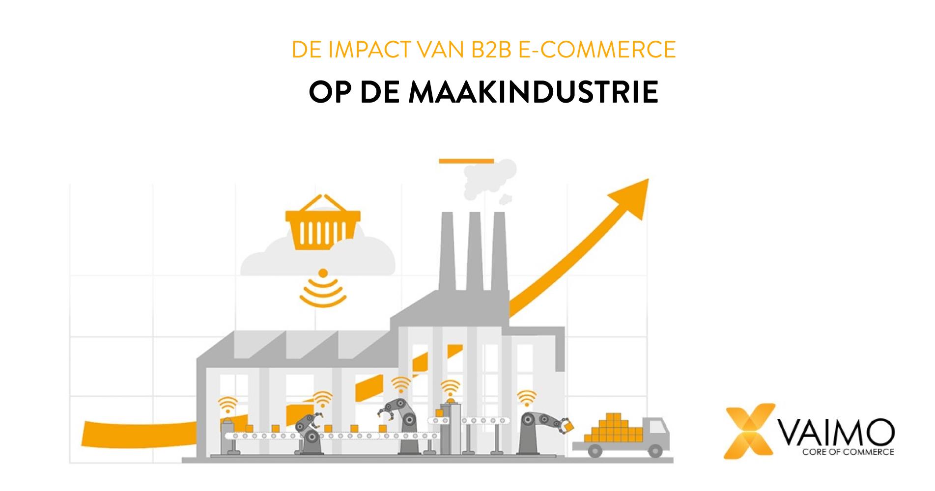 B2B E-commerce, productie en industrie 4.0