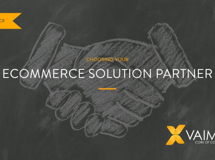 Ecommerce solution partner