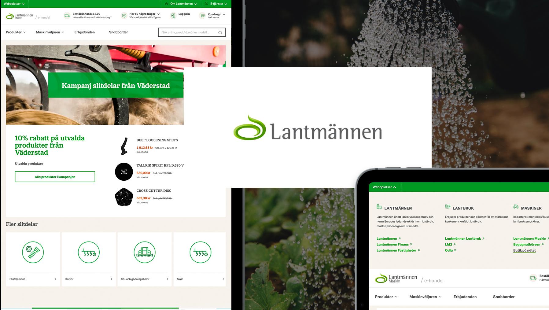Lantmannen online store