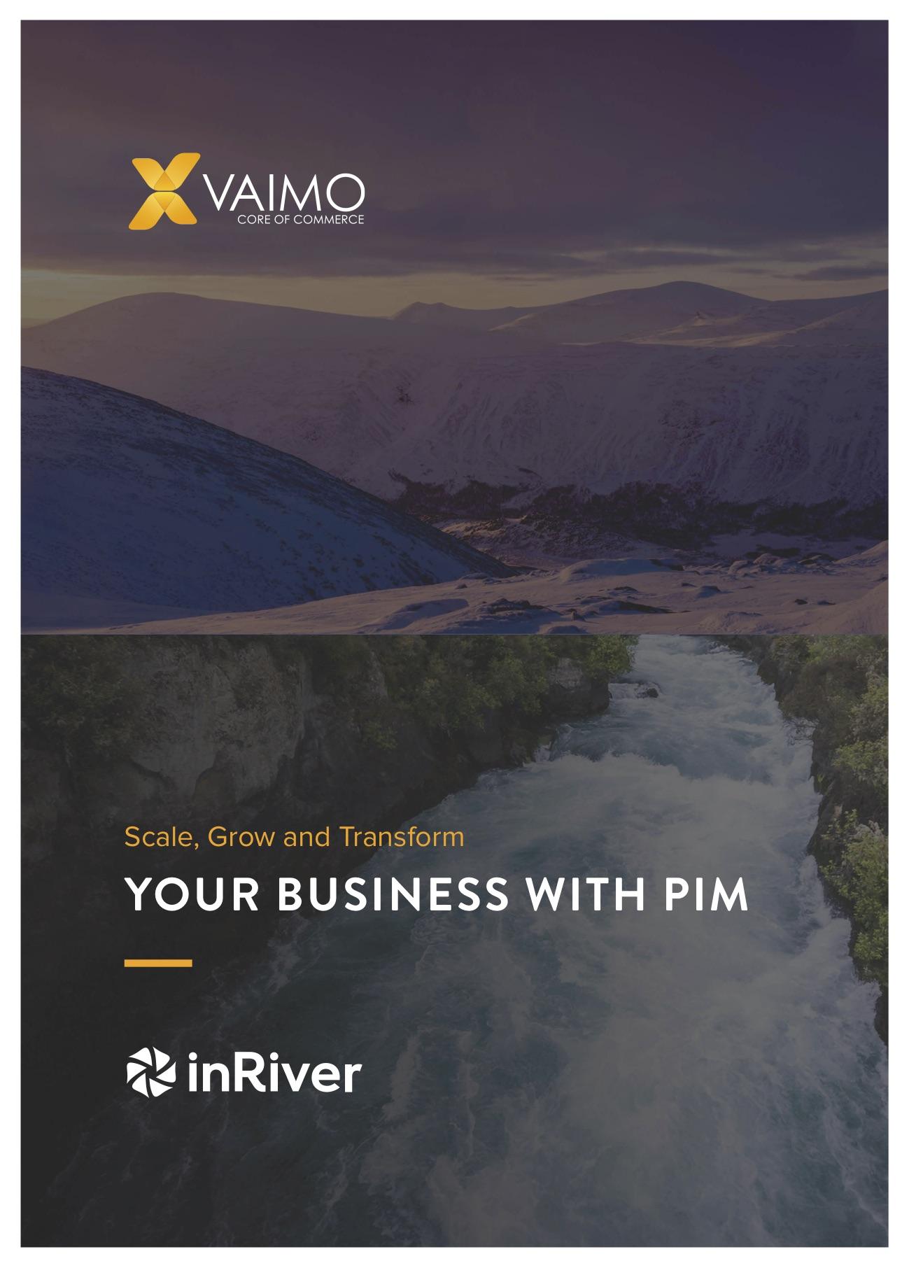 inRiver PIM whitepaper