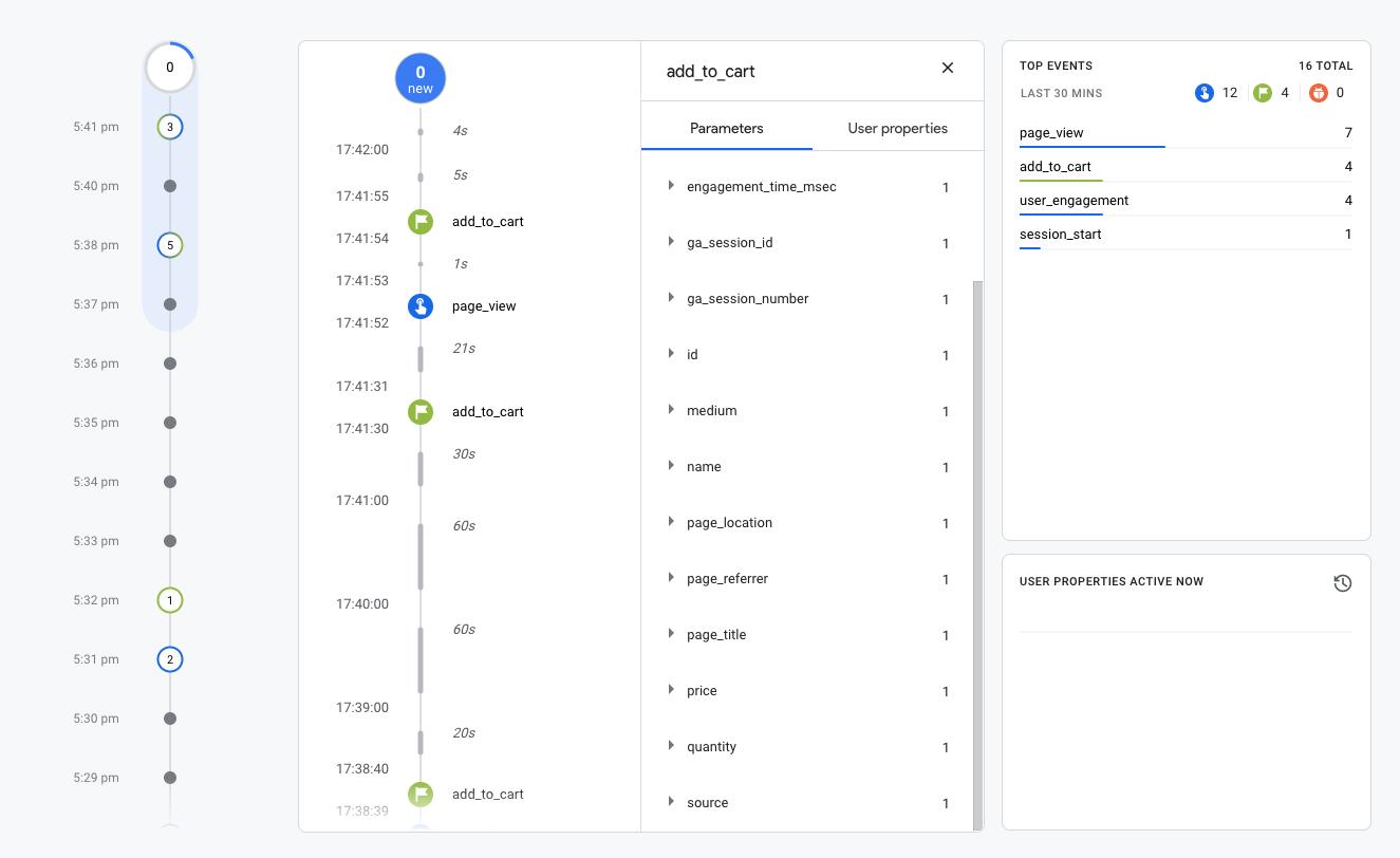 Google Analytics 4 (GA4) ehandel händelser