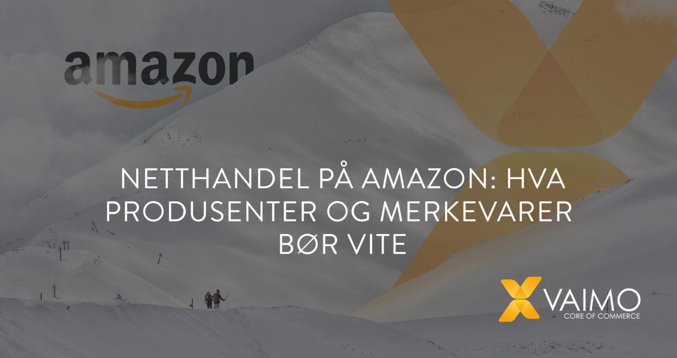 Netthandel Amazon