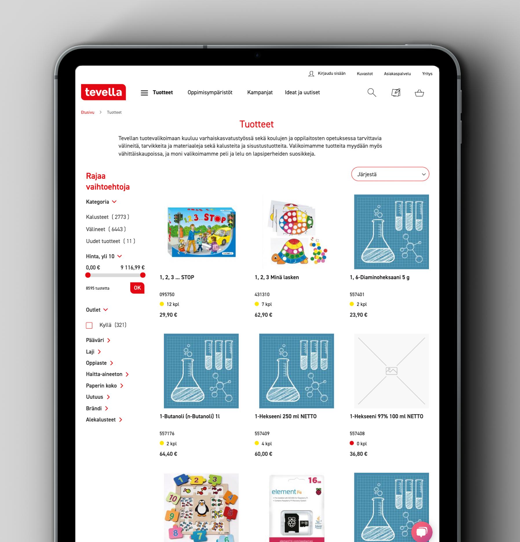 tevella b2b mobile commerce