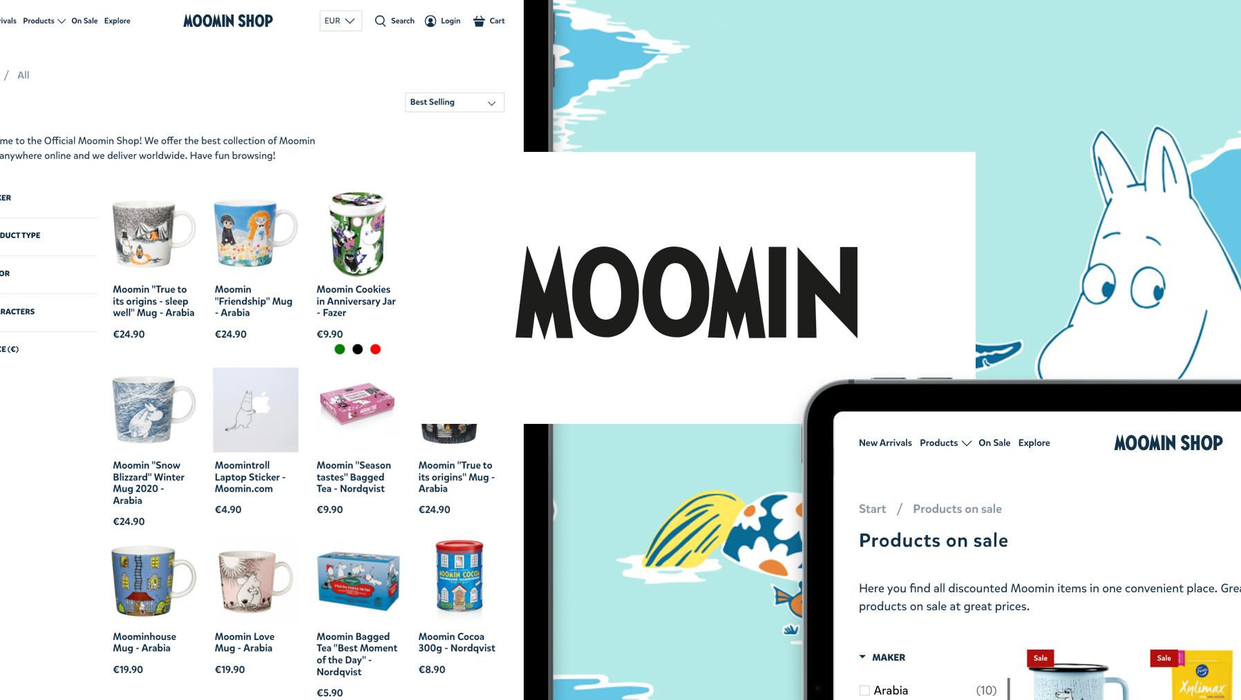 Moomin PIM Case Study